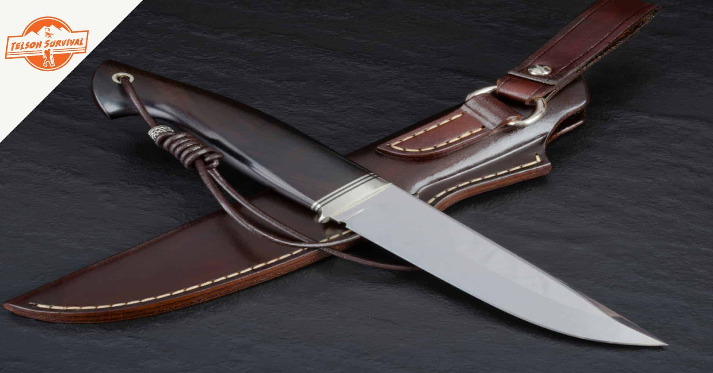 Survival knife with sheath