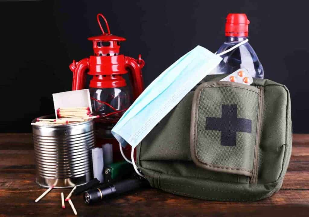 Various useful items in case of a tornado