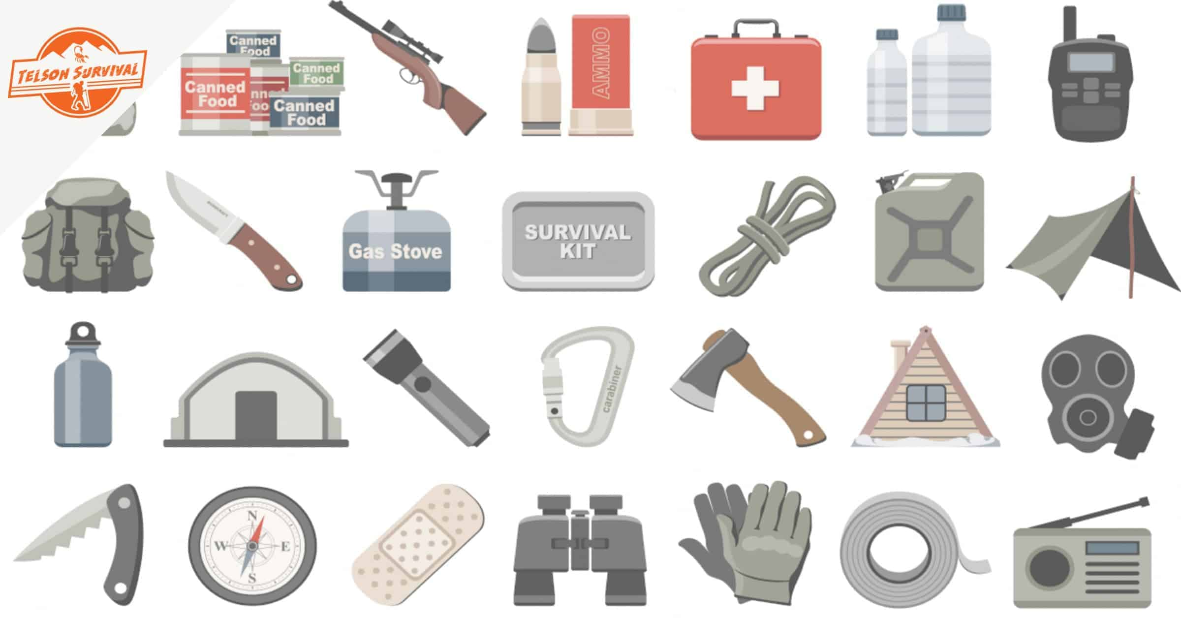 Complete List of Essential Survival Items