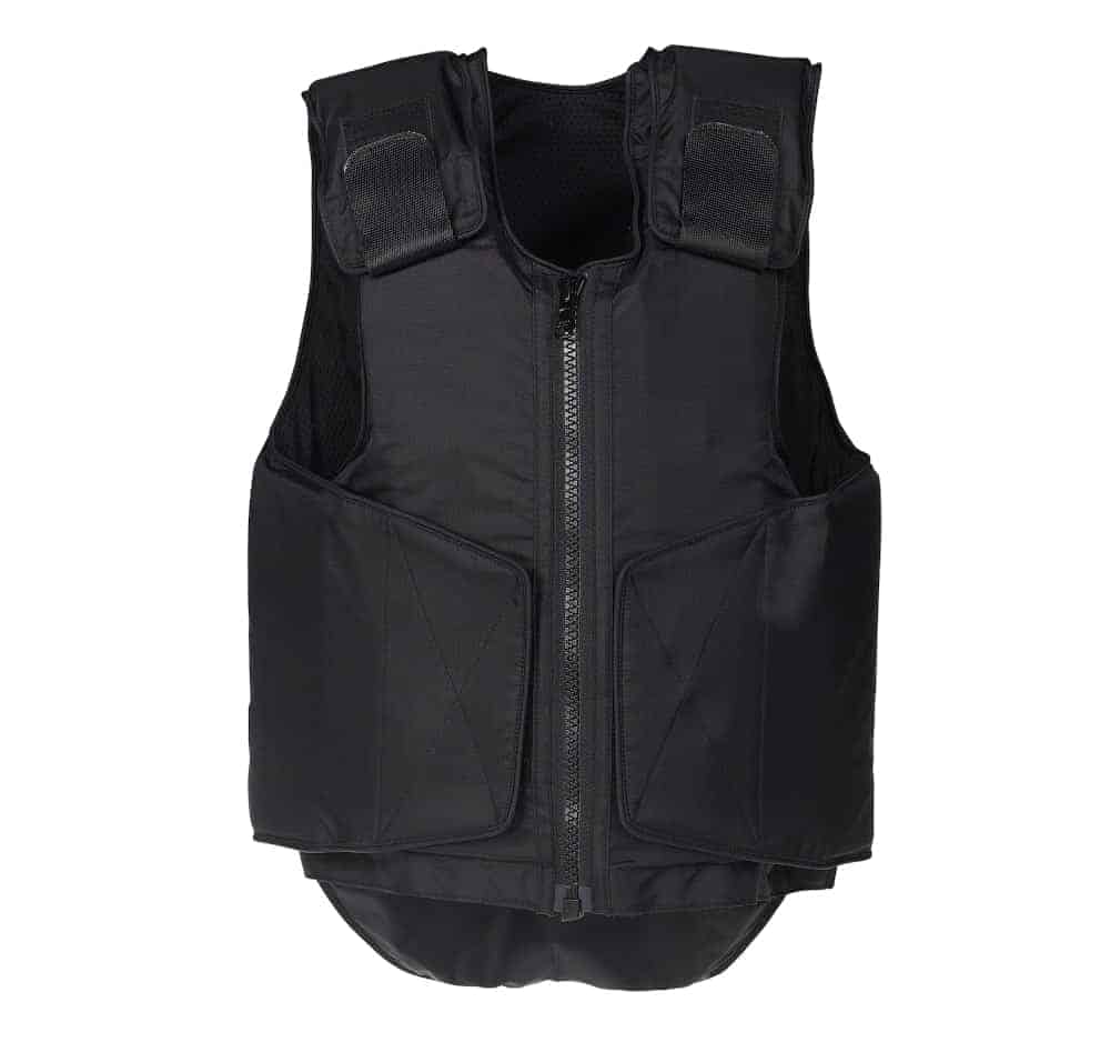 An example of a body armor vest