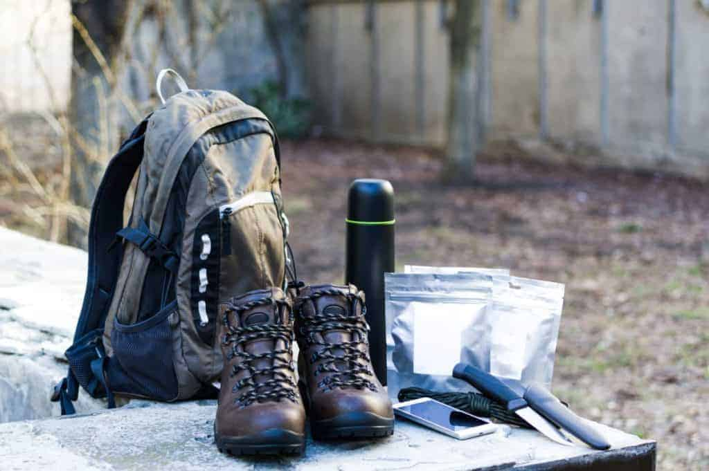 Urbagn survival get home bag with survival gear