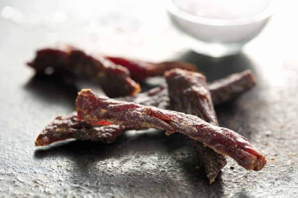 Beef jerkey in a how to make pemmican recipe