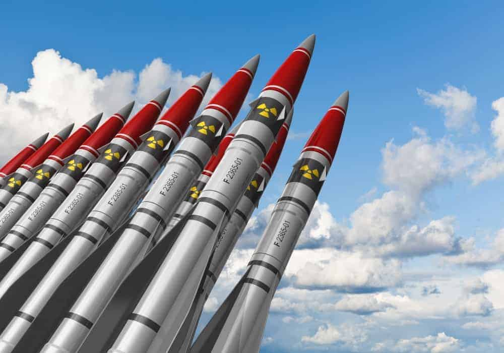 Nuclear missiles ready to be launched