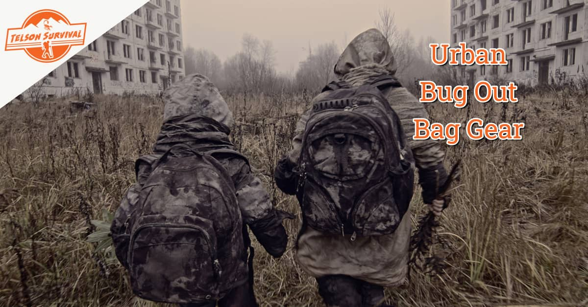 Two preppers trying to survive in an urban emergency scenario